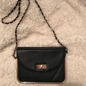 Handbags - Black crossbody bag